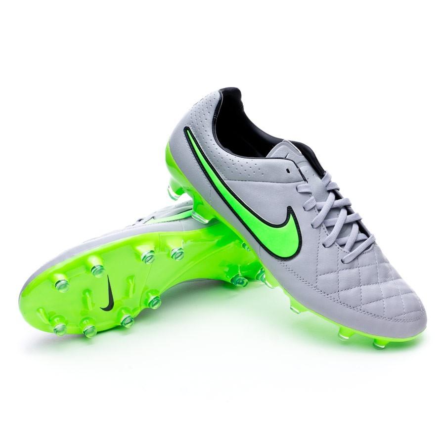 e8d5d86f428 Football Boots Nike Tiempo Legacy FG Wolf grey-Green strike-Black ...