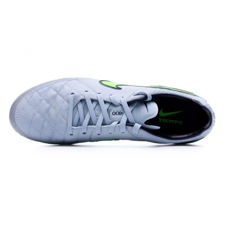 80203843b0c Football Boots Nike Tiempo Legend V ACC AG-R Wolf grey-Green strike ...