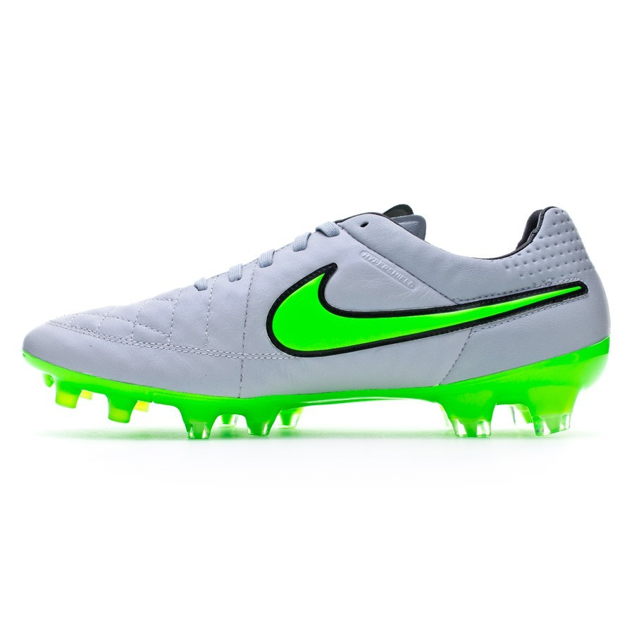 a4a435fda Football Boots Nike Tiempo Legend V ACC FG Wolf grey-Green strike-Black - Tienda  de fútbol Fútbol Emotion