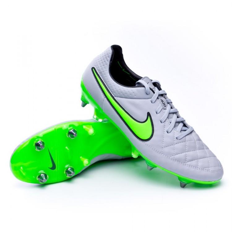 f1667eb27e37e Boot Nike Tiempo Legend V ACC SG-Pro Wolf grey-Green strike-Black ...