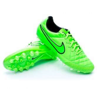 Chuteira  Nike Tiempo Legacy AG-R Green strike-Black