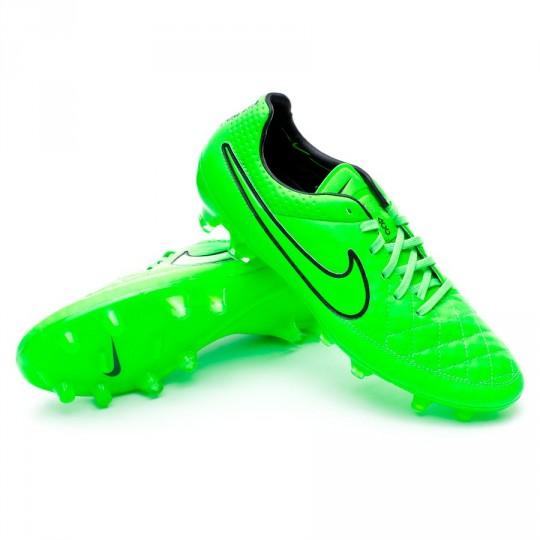 Chuteira  Nike Tiempo Legend V ACC FG Green strike-Black