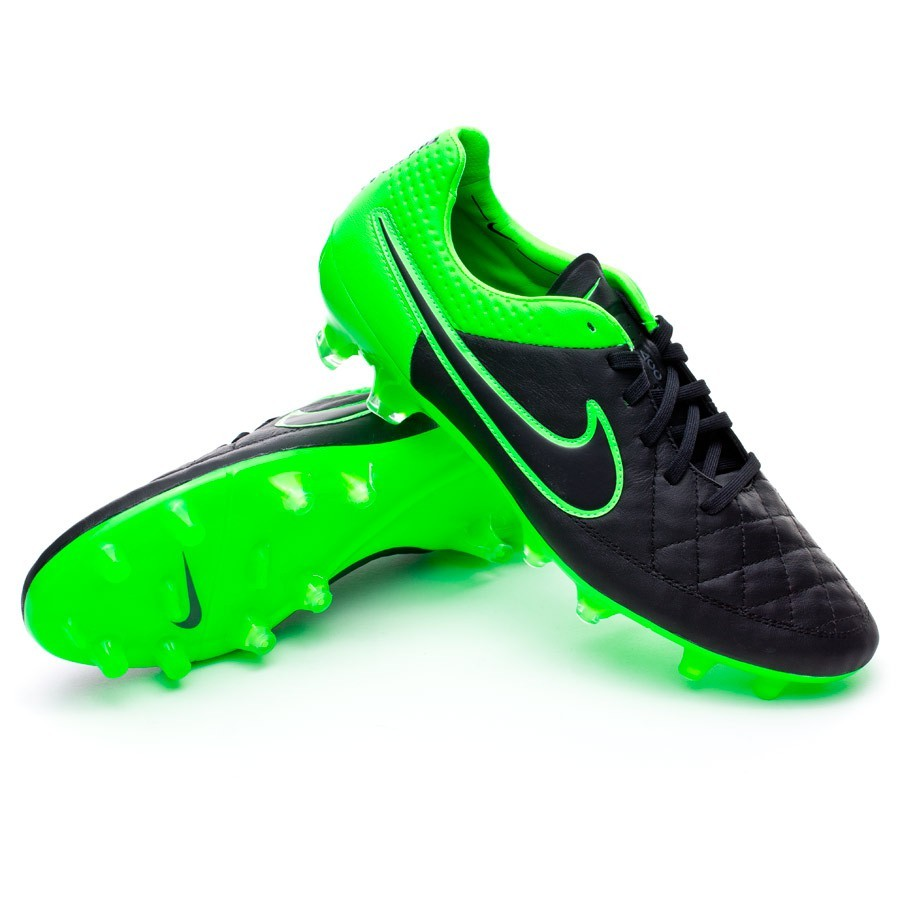 1d028c5369cd Bota Tiempo Legend V ACC FG Black-Green strike