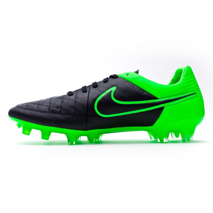 8a36c0c06477 Football Boots Nike Tiempo Legend V ACC FG Black-Green strike - Tienda de  fútbol Fútbol Emotion