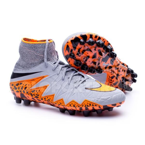 Chuteira Nike Hypervenom Phantom II ACC AG-R Wolf grey-Total orange-Black -  Loja de futebol Fútbol Emotion 751bfcdd4b07d