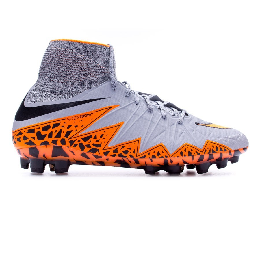 3ce8f0cd2 Football Boots Nike Hypervenom Phantom II ACC AG-R Wolf grey-Total  orange-Black - Tienda de fútbol Fútbol Emotion