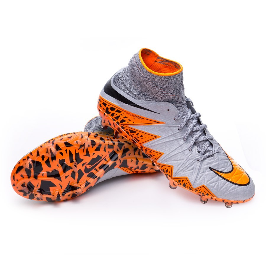 sports shoes 06bdf 18a8c Bota de fútbol Nike Hypervenom Phantom II ACC FG Wolf grey-Total  orange-Black - Soloporteros es ahora Fútbol Emotion
