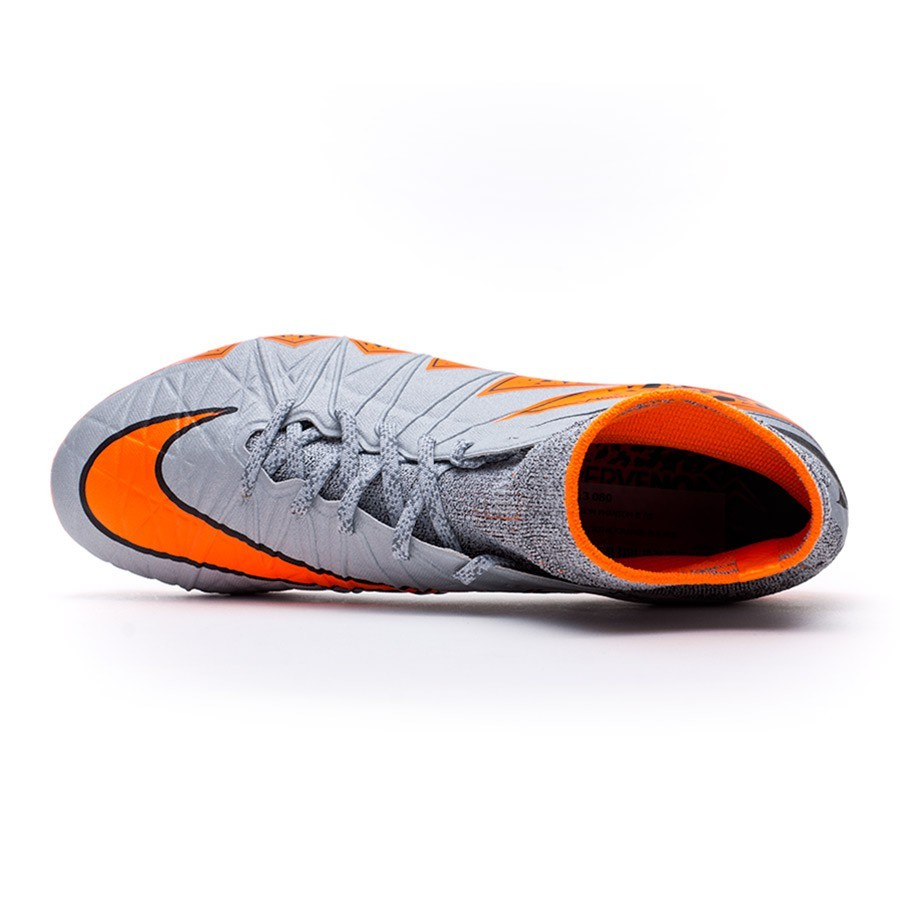 ad01c3a28 Football Boots Nike Hypervenom Phantom II ACC FG Wolf grey-Total orange- Black - Tienda de fútbol Fútbol Emotion