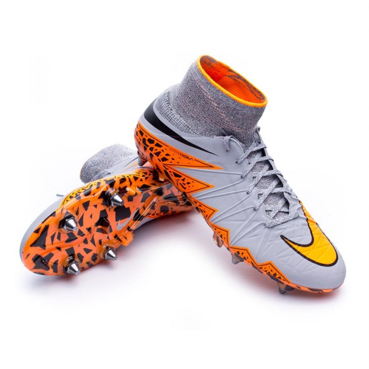 meet c5658 72a9c get nike hypervenom phantom 2 grey and orange 645cb 9ec08