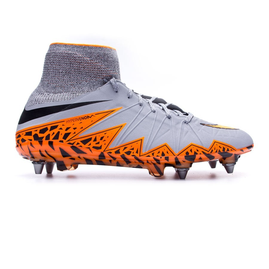 1726eb882 Football Boots Nike Hypervenom Phantom II ACC SG-Pro Wolf grey-Total orange- Black - Tienda de fútbol Fútbol Emotion