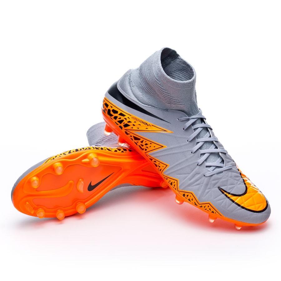 6a1a7a2c4 Football Boots Nike Hypervenom Phatal II Dynamic Fit FG Wolf grey ...