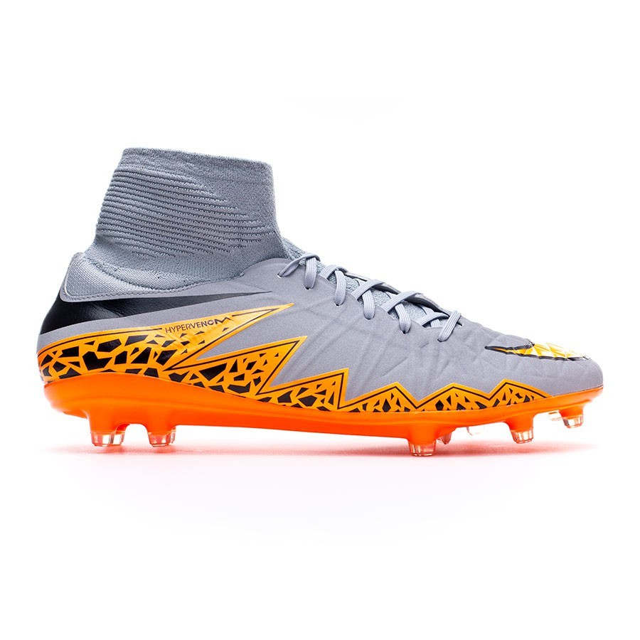 ee0a6c48b Football Boots Nike Hypervenom Phatal II Dynamic Fit FG Wolf grey-Total  orange-Black - Tienda de fútbol Fútbol Emotion