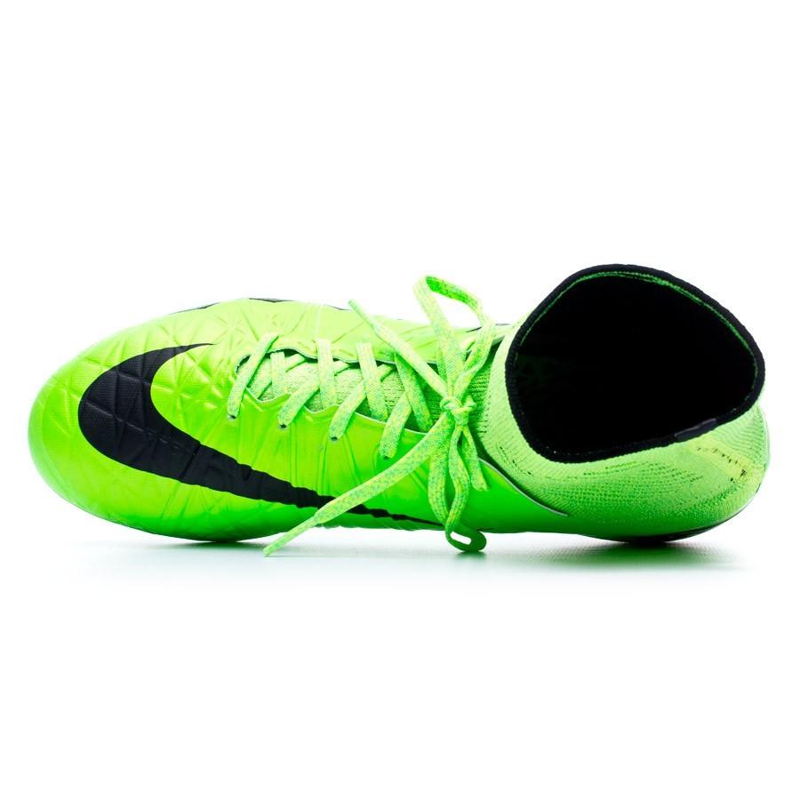 0f34e1bc4 Football Boots Nike Hypervenom Phantom II ACC AG-R Green strike-Black-Volt  - Football store Fútbol Emotion