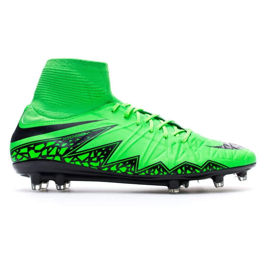 9f31c7327 Football Boots Nike Hypervenom Phatal II Dynamic Fit FG Green  strike-Black-Volt - Tienda de fútbol Fútbol Emotion