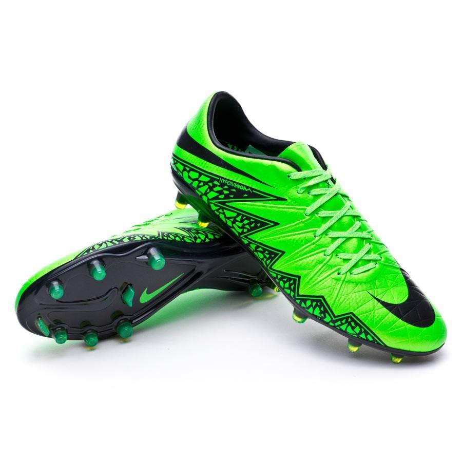 dc990e27fae6 Football Boots Nike Hypervenom Phinish ACC FG Green strike-Black ...