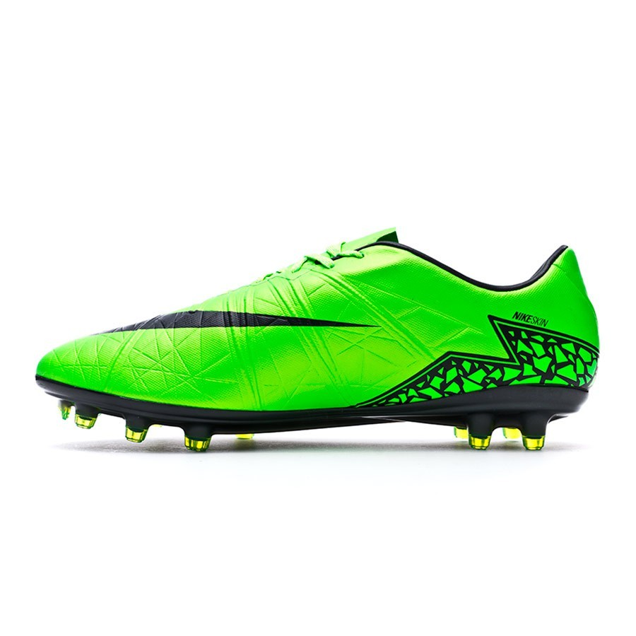 15c843bbe14 Football Boots Nike Hypervenom Phinish ACC FG Green strike-Black-Volt -  Football store Fútbol Emotion