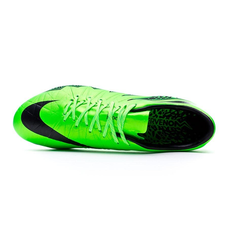 7a35a586e4bc Football Boots Nike Hypervenom Phinish ACC FG Green strike-Black-Volt -  Football store Fútbol Emotion