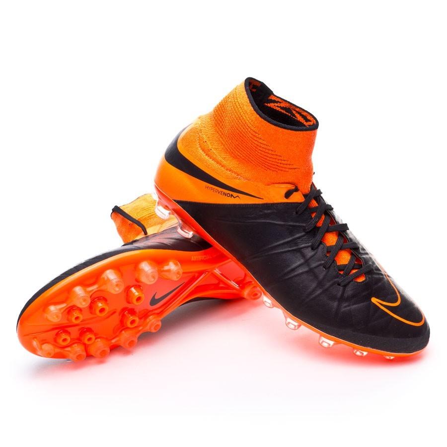 the best attitude 3e4fa 5e9ea ... Bota Hypervenom Phantom II ACC Tech Craft AG-R Black-Total orange.  CATEGORY