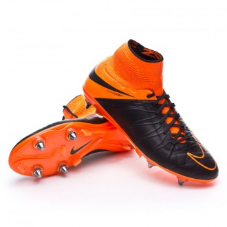 Chuteira  Nike Hypervenom Phantom II ACC Tech Craft SG-Pro Black-Total orange