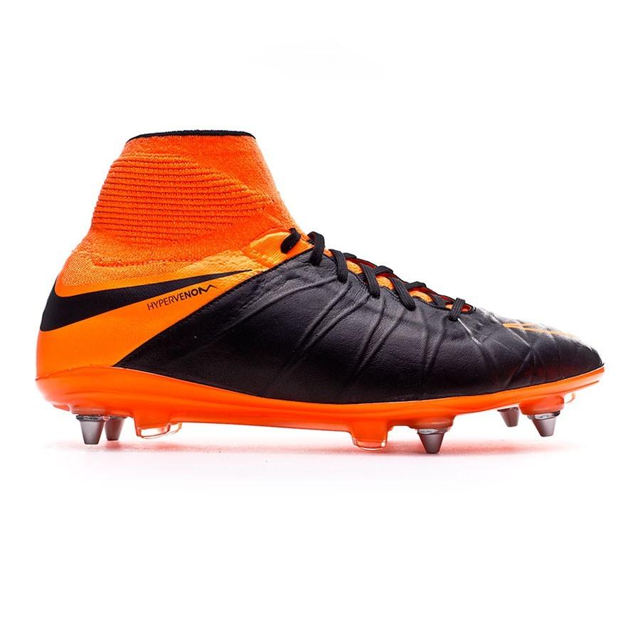 a6cfcb673dd8 Football Boots Nike Hypervenom Phantom II ACC Tech Craft SG-Pro Black-Total  orange - Football store Fútbol Emotion