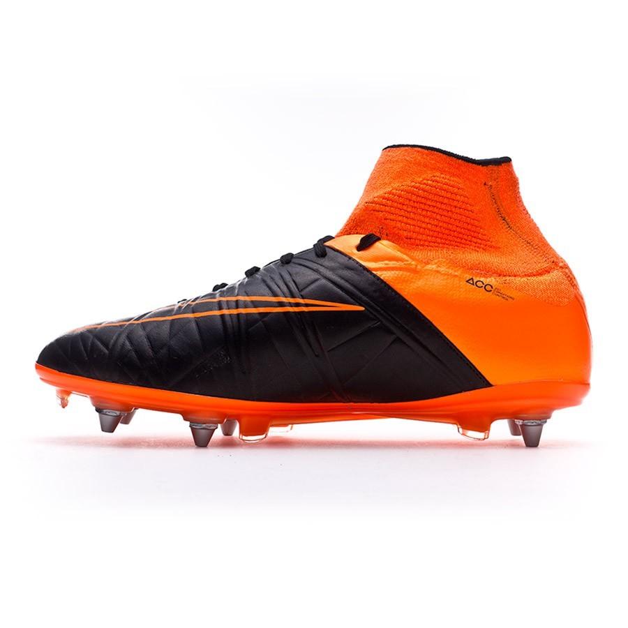 b92c81c6e239 Boot Nike Hypervenom Phantom II ACC Tech Craft SG-Pro Black-Total orange -  Tienda de fútbol Fútbol Emotion