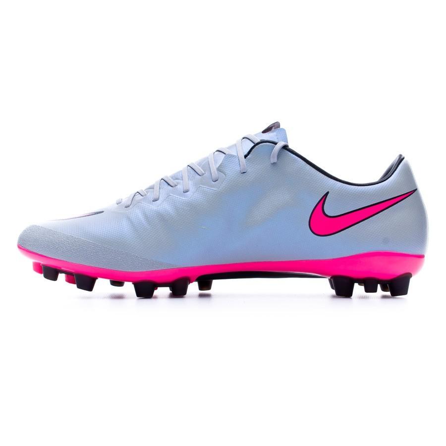 c265d1bfea1fb Football Boots Nike Mercurial Vapor X ACC AG-R Wolf grey-Hyper pink-Black -  Football store Fútbol Emotion