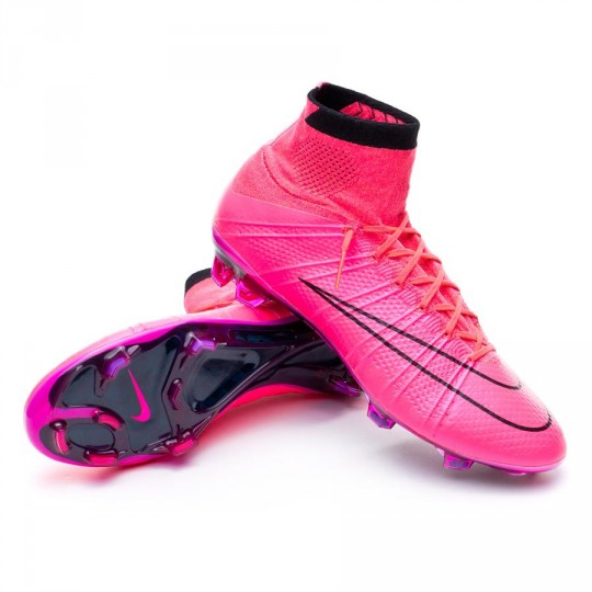finest selection 43de5 3df66 Chaussure de foot Nike Mercurial Superfly ACC FG Hyper pink-Black -  Boutique de football Fútbol Emotion