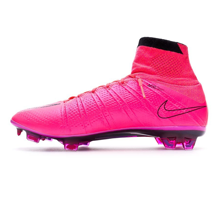 online store 7c139 824b3 Football Boots Nike Mercurial Superfly ACC FG Hyper pink-Black - Football  store Fútbol Emotion