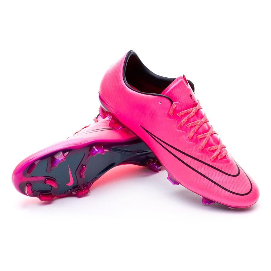 big sale c83f7 a40a9 Football Boots Nike Mercurial Vapor X ACC FG Hyper pink-Black - Tienda de  fútbol Fútbol Emotion