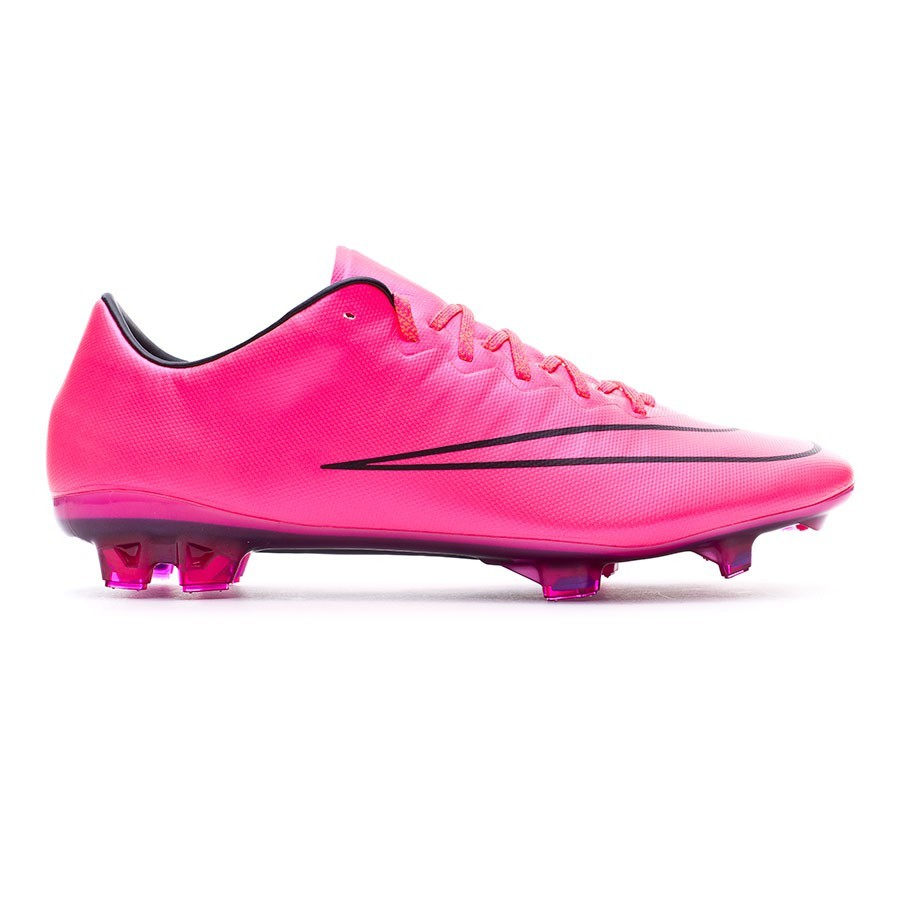 29a73ad20 Football Boots Nike Mercurial Vapor X ACC FG Hyper pink-Black - Football  store Fútbol Emotion