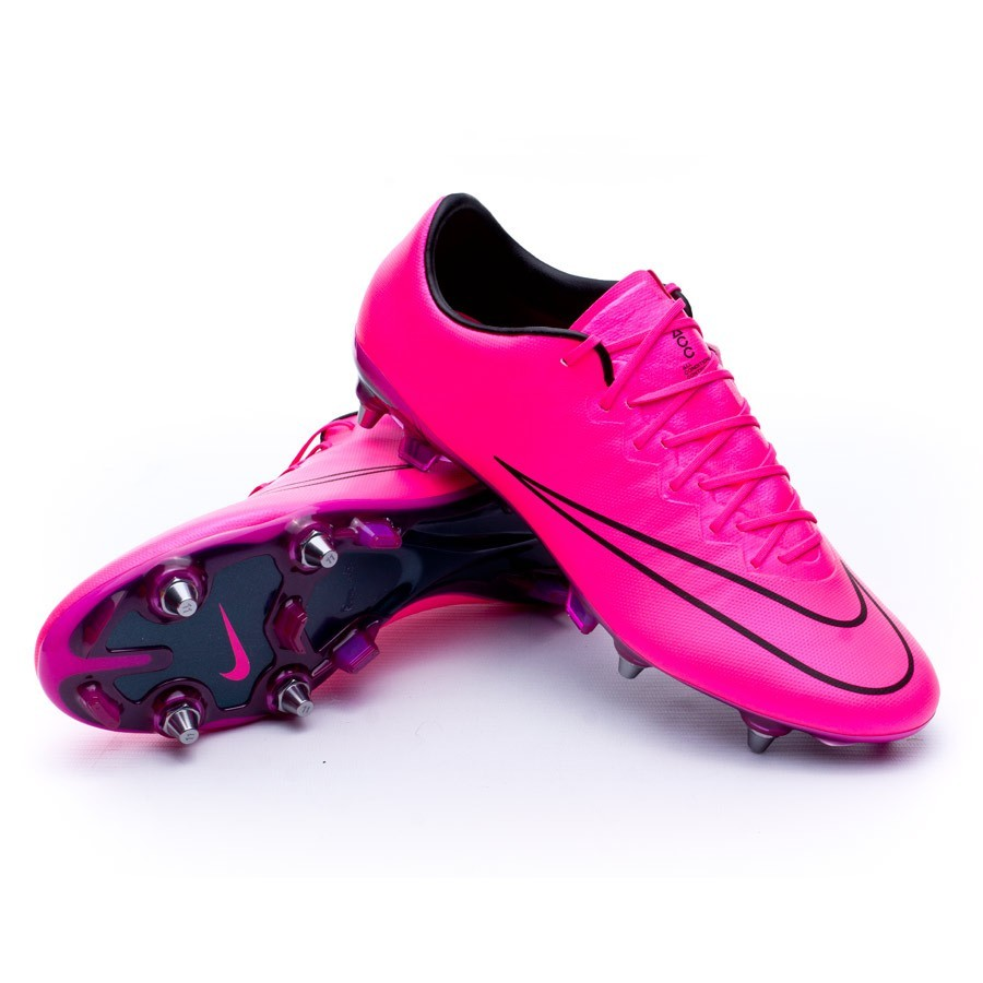 2bad88ee5c9 Football Boots Nike Mercurial Vapor X ACC SG-Pro Hyper pink-Black ...