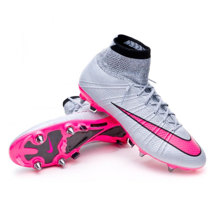 super popular 04955 e38bf bota-nike-mercurial-superfly-sg-pro-wolf-grey-