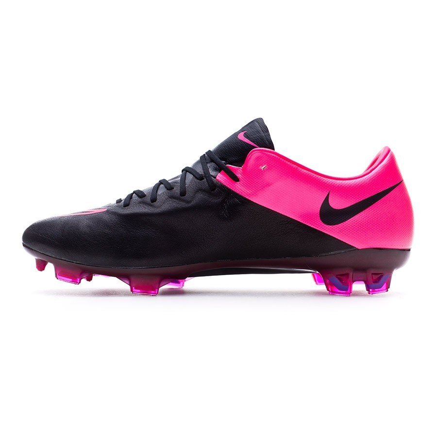 1271464f5 Football Boots Nike Mercurial Vapor X ACC Tech Craft FG Black-Hyper pink- Pink power - Football store Fútbol Emotion