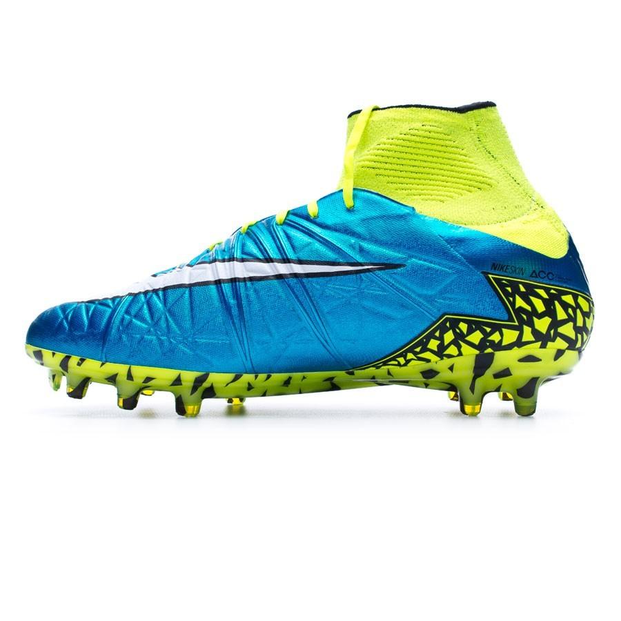 f2e4ff51f00 Boot Nike Hypervenom Phantom Mujer II ACC FG Blue lagoon-White-Volt-Black -  Soloporteros es ahora Fútbol Emotion