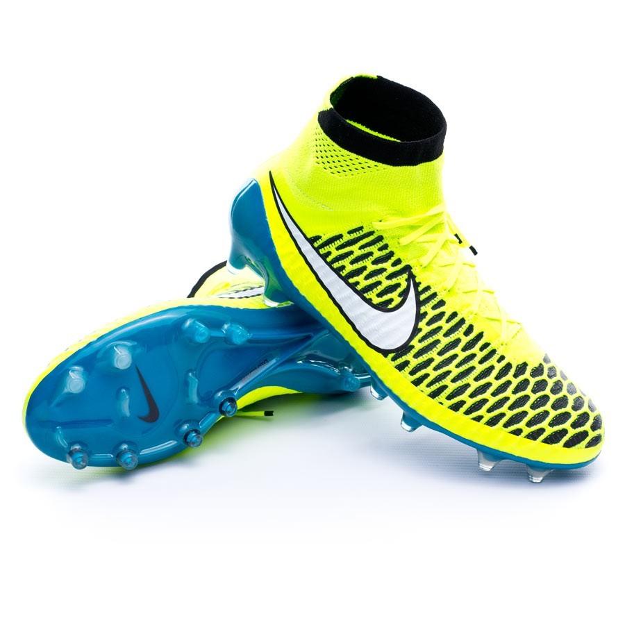 d53d0c6fb4a7 Boot Nike Magista Obra Mujer ACC FG Volt-White-Blue lagoon-Black ...