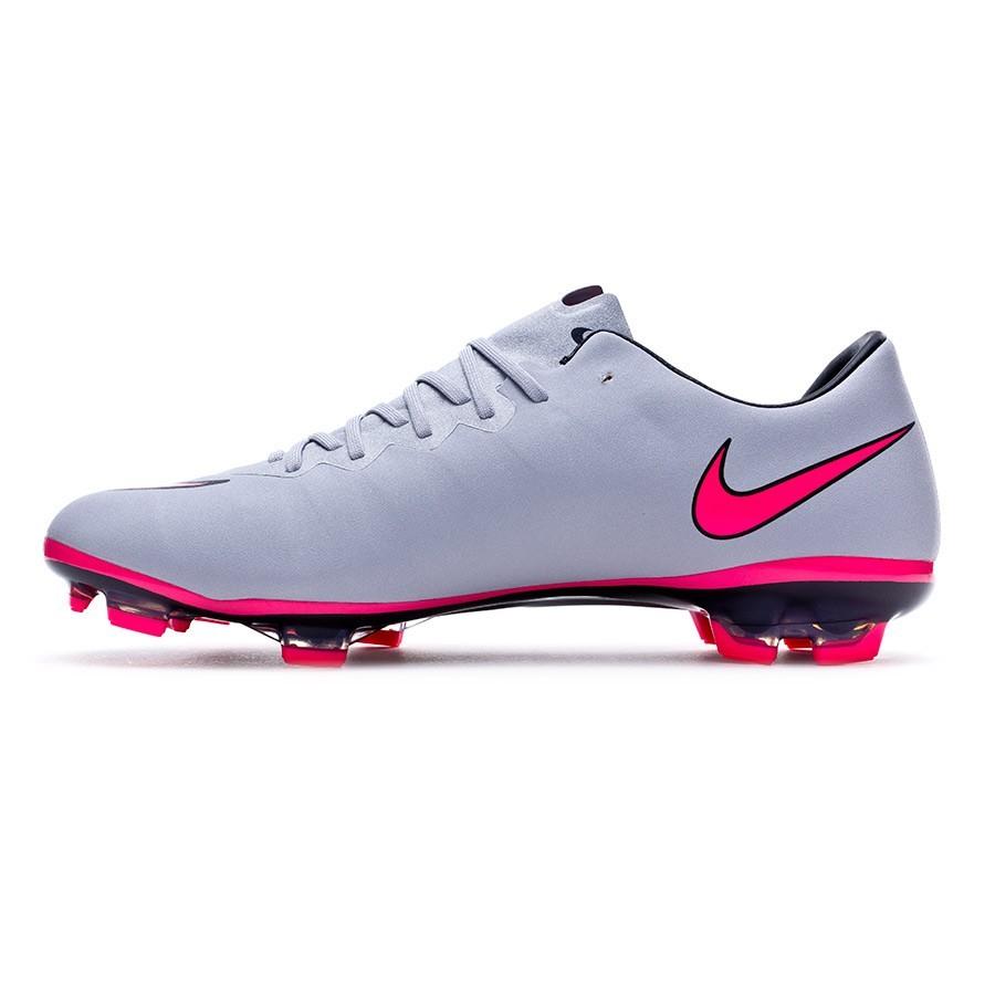 23da01faa2f2d Boot Nike Jr Mercurial Vapor X ACC FG Wolf grey-Hyper pink-Black -  Soloporteros es ahora Fútbol Emotion