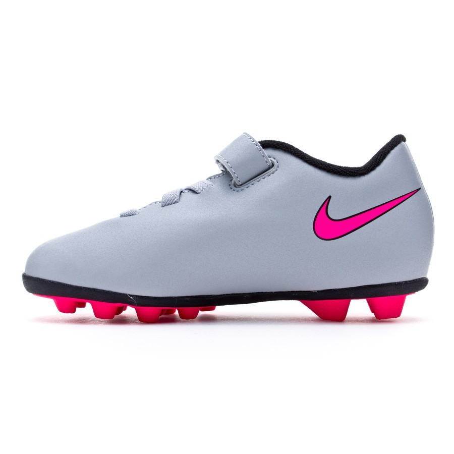 b9e488955edab Chuteira Nike Jr Mercurial Vortex II (V) FG-R Wolf grey-Hyper pink-Black -  Loja de futebol Fútbol Emotion