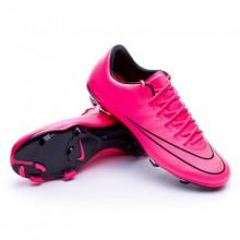 Jr Mercurial Vapor X ACC FG Hyper pink-Black