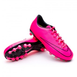 Chuteira  Nike Jr Mercurial Victory V AG Hyper pink-Black
