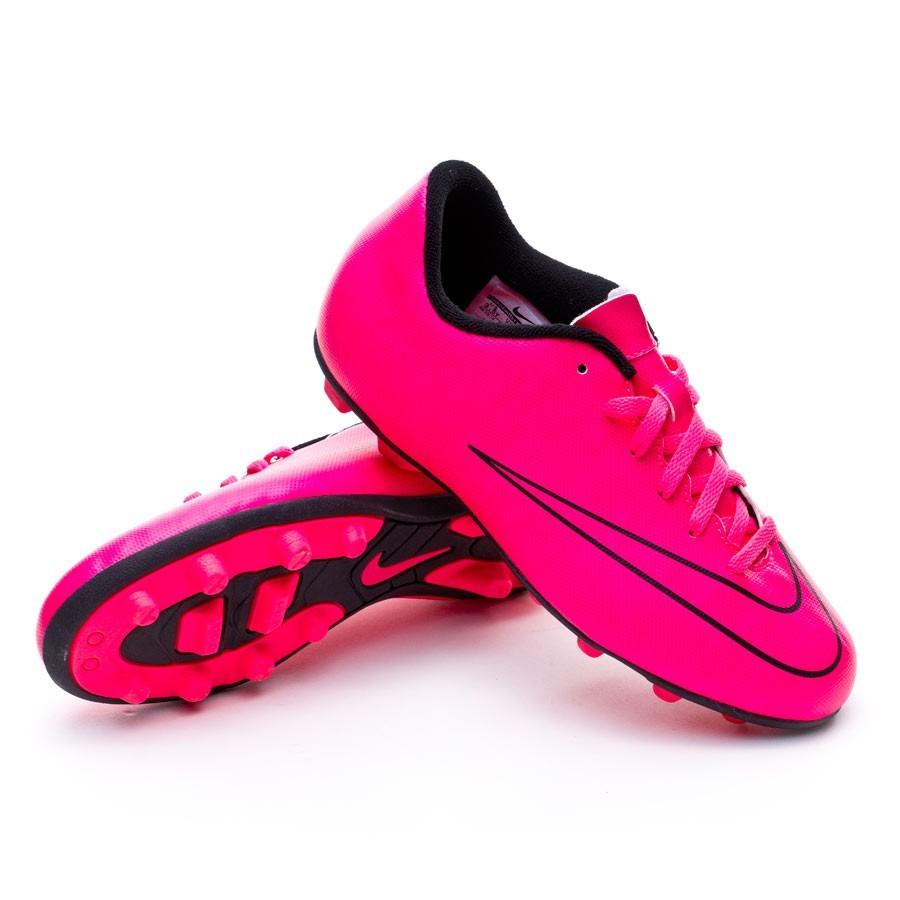 low priced 2a85f 68b34 Bota de fútbol Nike Mercurial Vortex II FG-R Niño Hyper pink-Black -  Soloporteros es ahora Fútbol Emotion