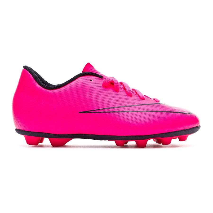 size 40 89189 03555 Football Boots Nike Jr Mercurial Vortex II FG-R Hyper pink-Black - Football  store Fútbol Emotion