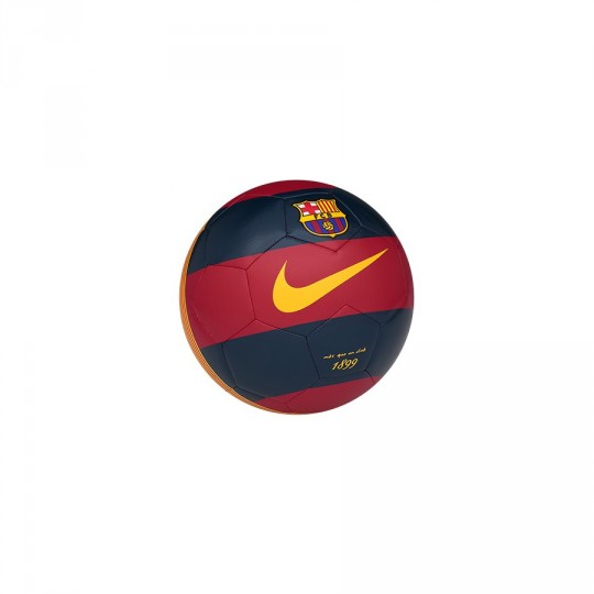 Bola de Futebol  Nike Mini FCB 2015-16 Storm red-Loyal blue