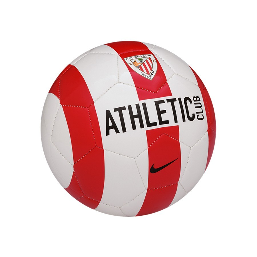 Ball Nike AC Bilbao Supporter 2015-16 University red-White-Black ... f6e58a395864a