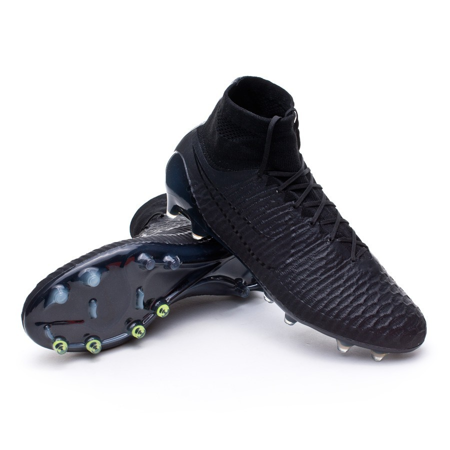 ef6e1ce912d4 Football Boots Nike Magista Obra FG ACC Black-Black - Football store ...