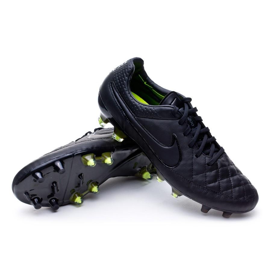 Scarpe Nike Tiempo Legend V FG ACC Black-Black - Negozio di calcio Fútbol  Emotion 9456b90940b