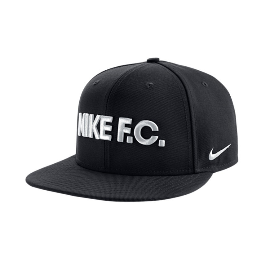 31eabbc38196 Cap Nike Nike F.C. True Flat Bill Black-Anthracite-Black-White ...
