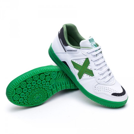 Boot  Munich Continental White-Green