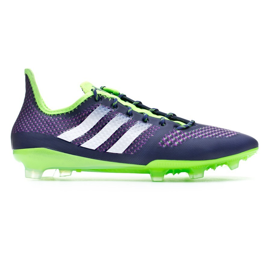 1fc7fe6e9d0 Football Boots adidas Primeknit 2.0 FG Night sky-White-Solar green -  Football store Fútbol Emotion