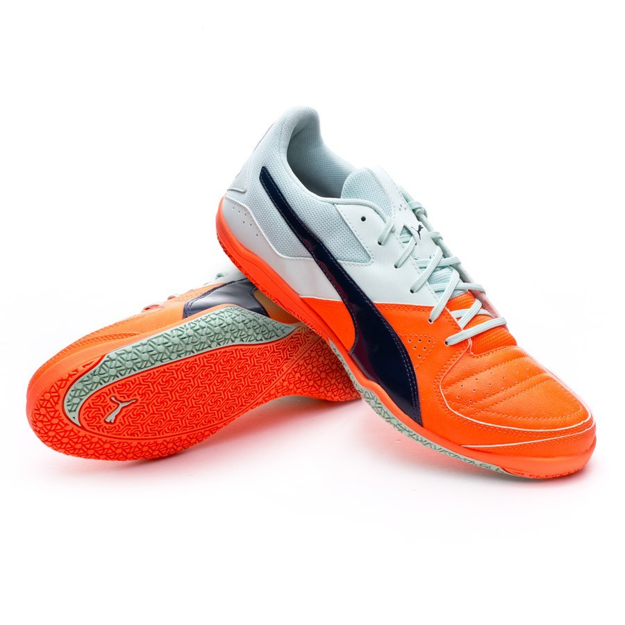 Futsal Boot Puma Gavetto Sala Fair aqua-Total eclipse-Lava blast ... b9e665337