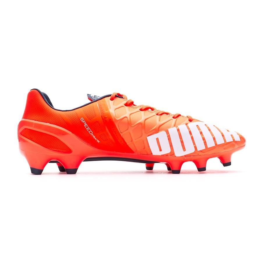 3aae479e6997 Boot Puma evoSPEED 1.4 FG Lava blast-White-Total eclipse - Football store  Fútbol Emotion